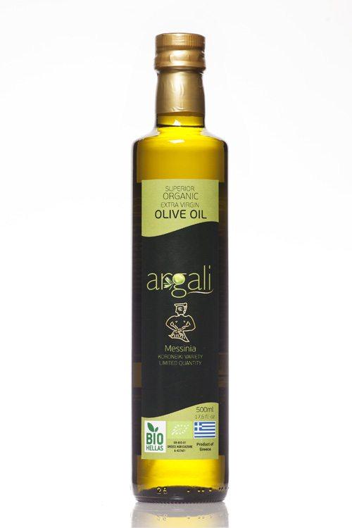 Argali Superior Organic Extra Virgin Olive Oil - 500ml