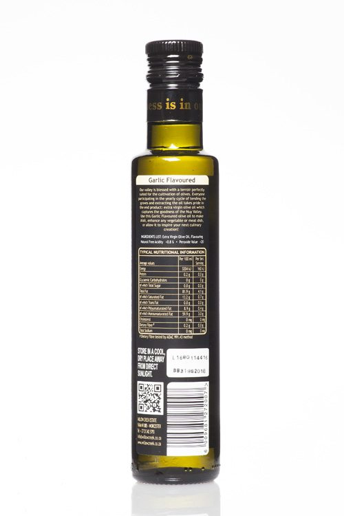 Willow Creek Garlic Flavoured Olive Oil
