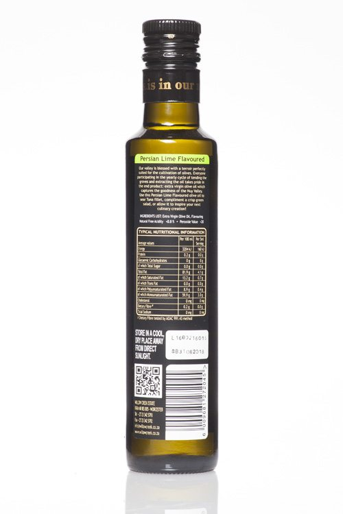 Willow Creek Persian Lime Flavoured Olive Oil
