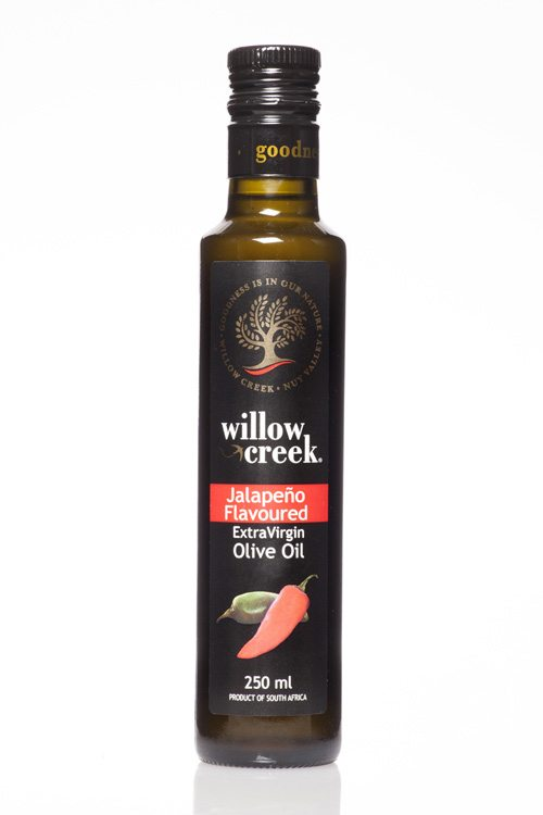 Willow Creek Jalapeño Flavoured Extra Virgin Olive Oil - 250ml