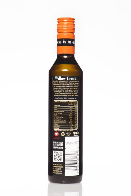 Willow Creek Estate Blend Extra Virgin Olive Oil Squeeze 500ml