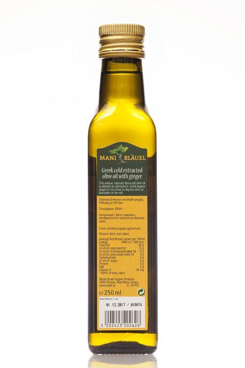 Mani Bläuel Ginger Flavoured Organic Olive Oil