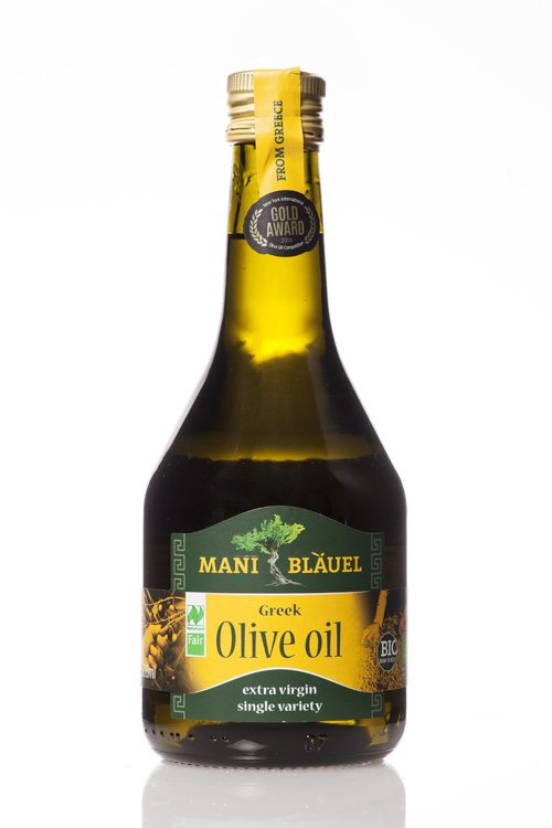 Mani Bläuel Extra Virgin Olive Oil, Naturland Organic & Fair Certified - 500ml