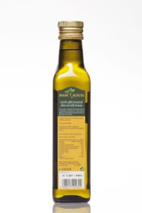 Mani Bläuel Lemon Flavoured Organic Olive Oil