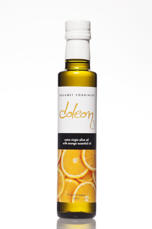 Doleon Extra Virgin Olive Oil infused with orange essential oil - 250ml