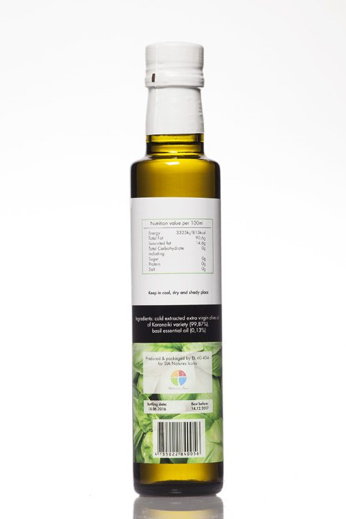 Doleon Basil Infused Olive Oil