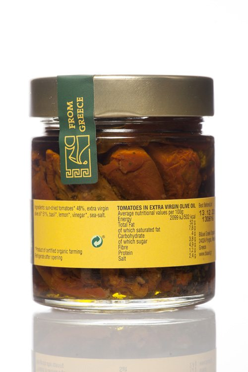 Mani Bläuel Sun-dried Tomatoes in Extra Virgin Olive Oil