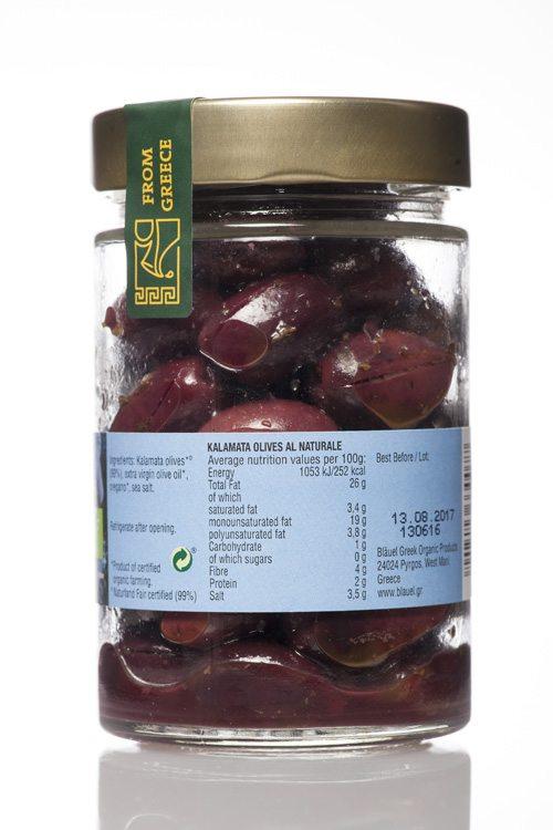 Mani Bläuel Kalamata Olives al Naturale